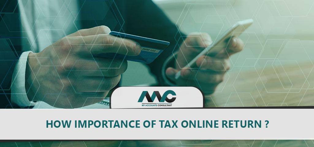 tax online returns